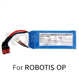Robotis Lipo Battery 11 1v 1800mah Lb 012 Robosavvy