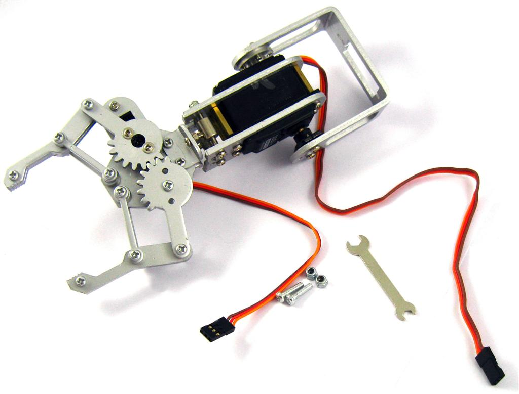 Dagu dof robot arm with gripper and servos cm