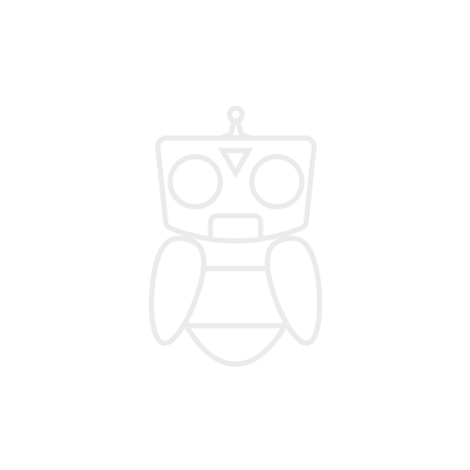 Robobuilder - Head with Distance Sensor Black