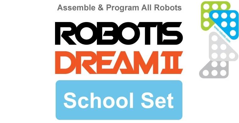 Assemble & Program All Robots Robotis Dream II School Set