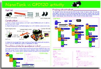 GP2 proximity sensor ROBO-BOX