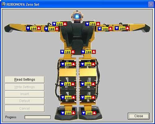 robonova software
