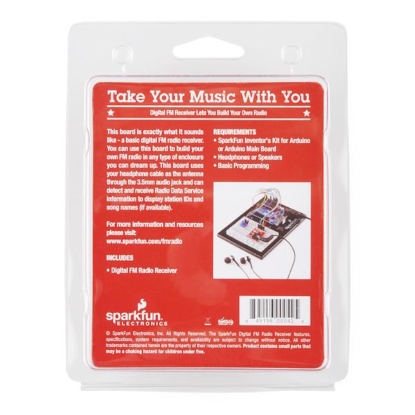 SparkFun - Digital FM Radio Receiver Retail